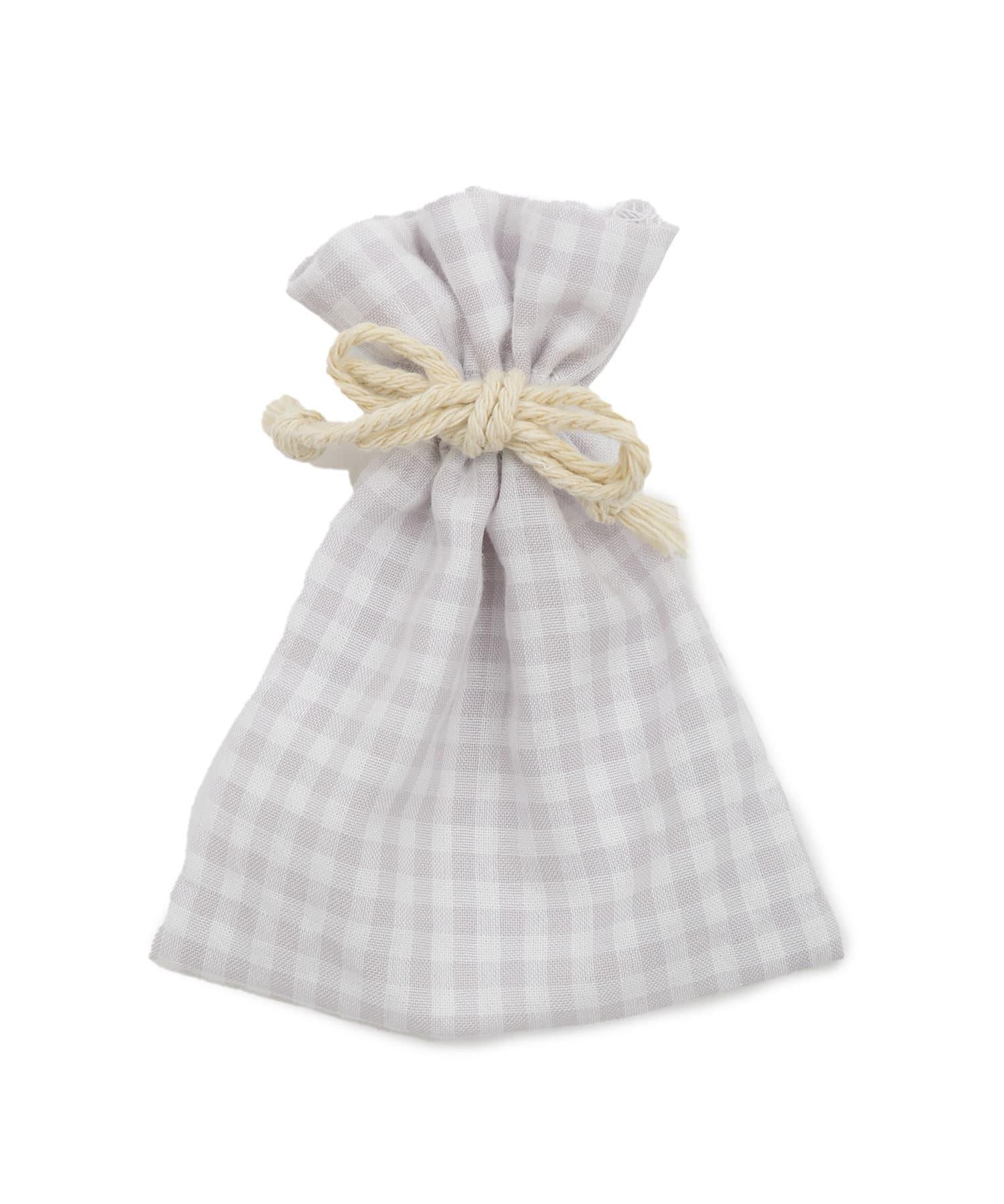 PAL CLOSET ONLINE STOREで買える「Lattice(ラティス Lattice(ラティス 【WEB限定】ギンガムチェック巾着ポーチS パープル」の画像です。価格は110円になります。