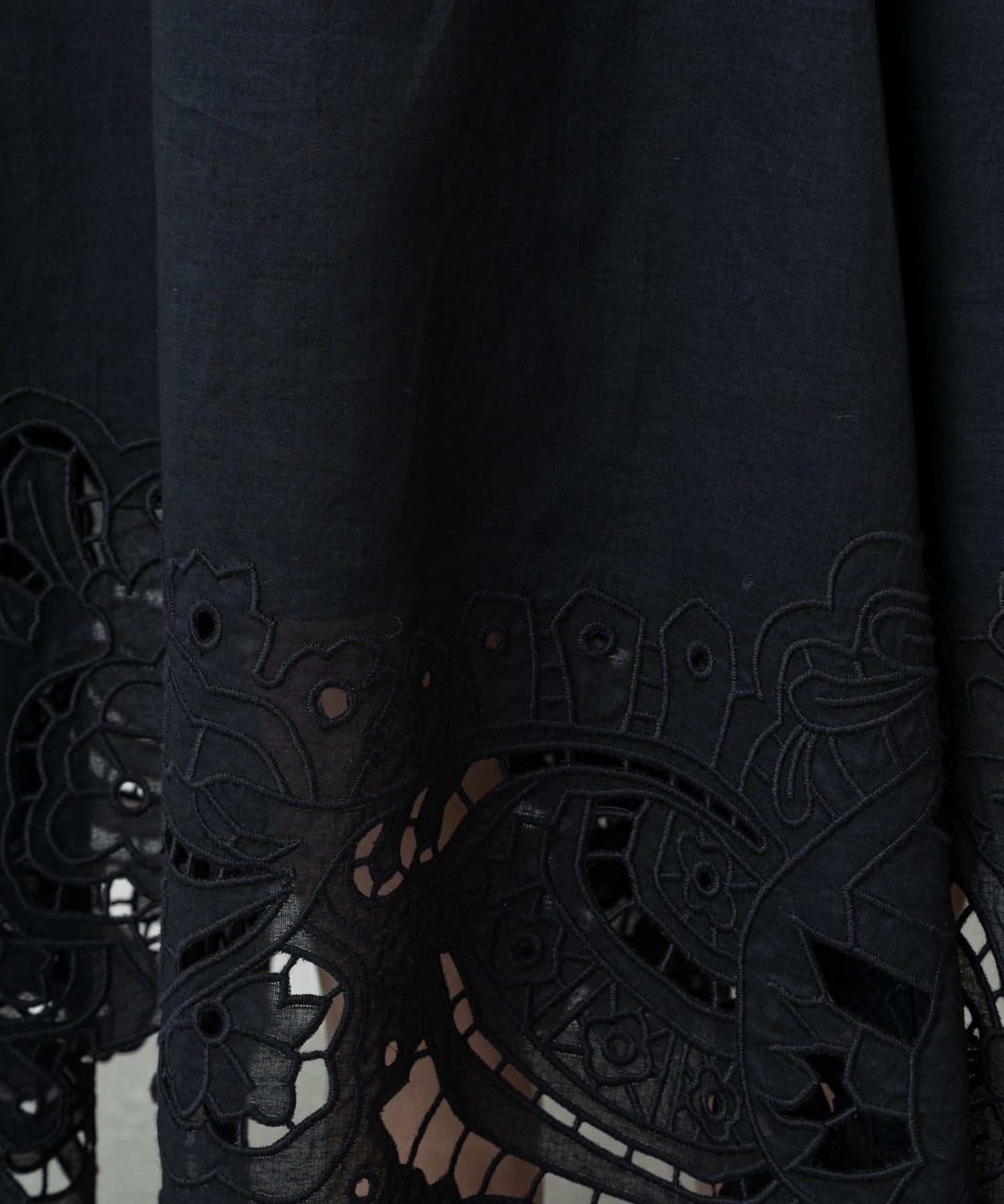 GALLARDAGALANTE(ガリャルダガランテ) カットレーススカート