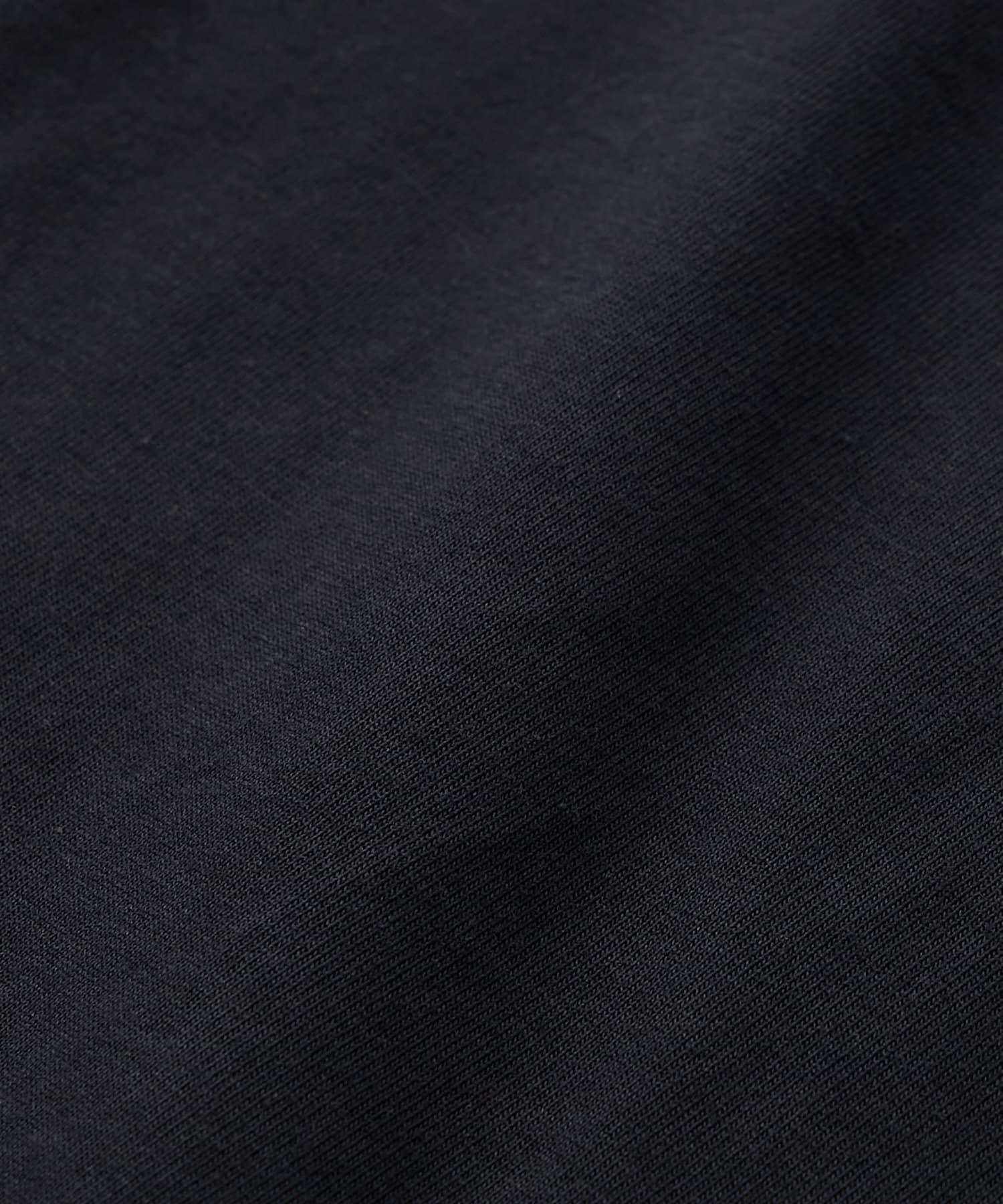 La boutique BonBon(ラブティックボンボン) 【手洗い可】サイドドット釦コクーンカットソー