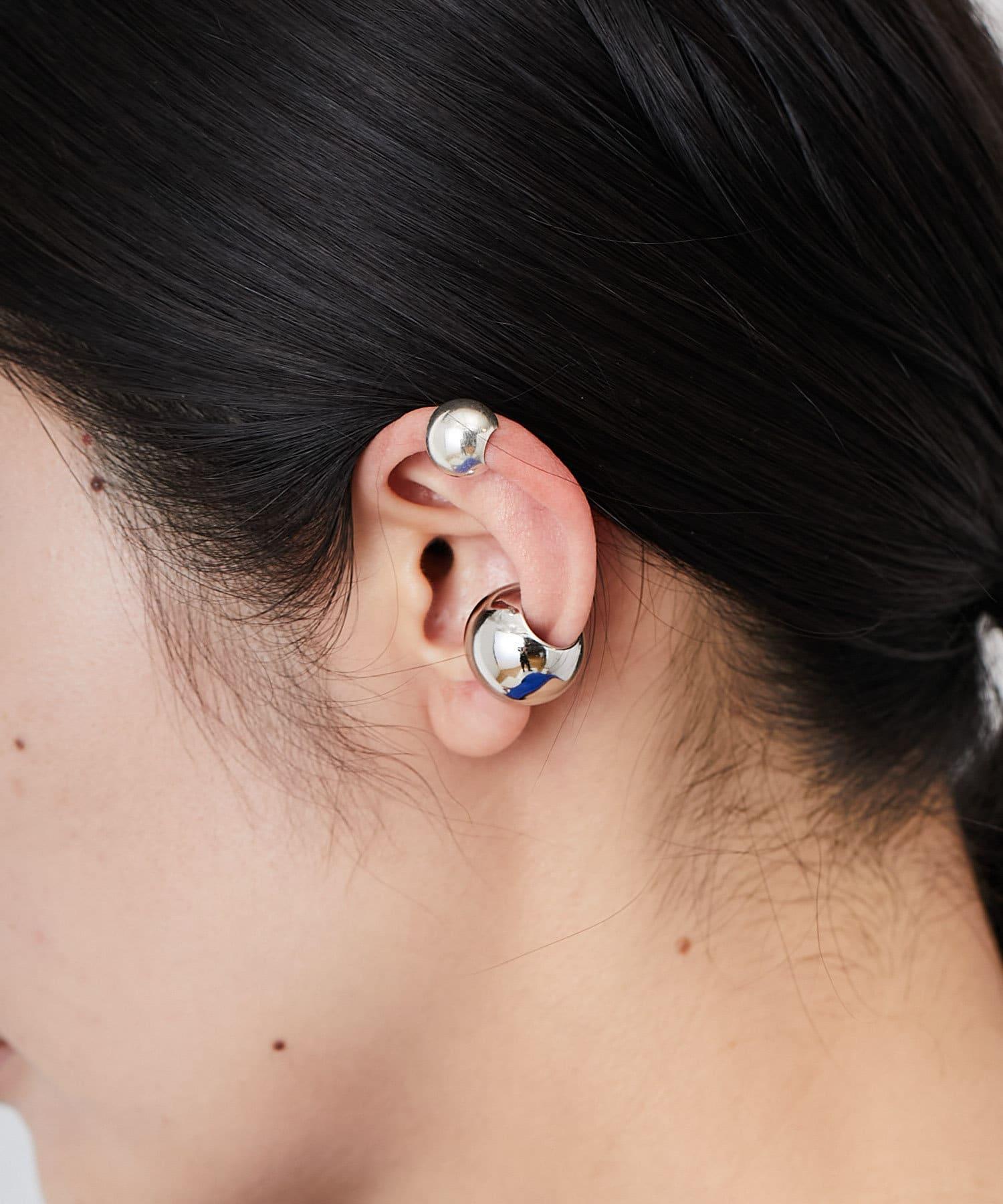 ear PAPILLONNER(イア パピヨネ) (WEB限定)スターリングシルバーまんまるイヤーカフ