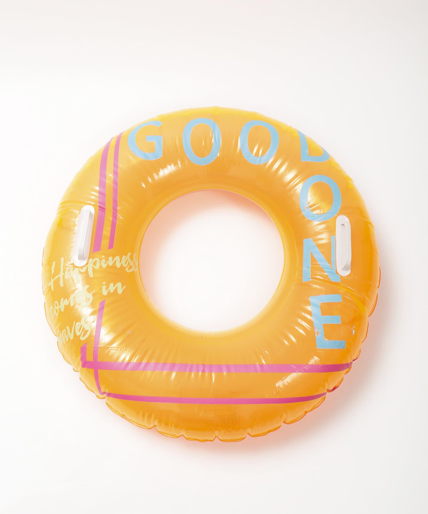 3COINS(スリーコインズ) ライフスタイル 【お外を楽しむ夏物アイテム】ハンドル付き浮き輪 その他