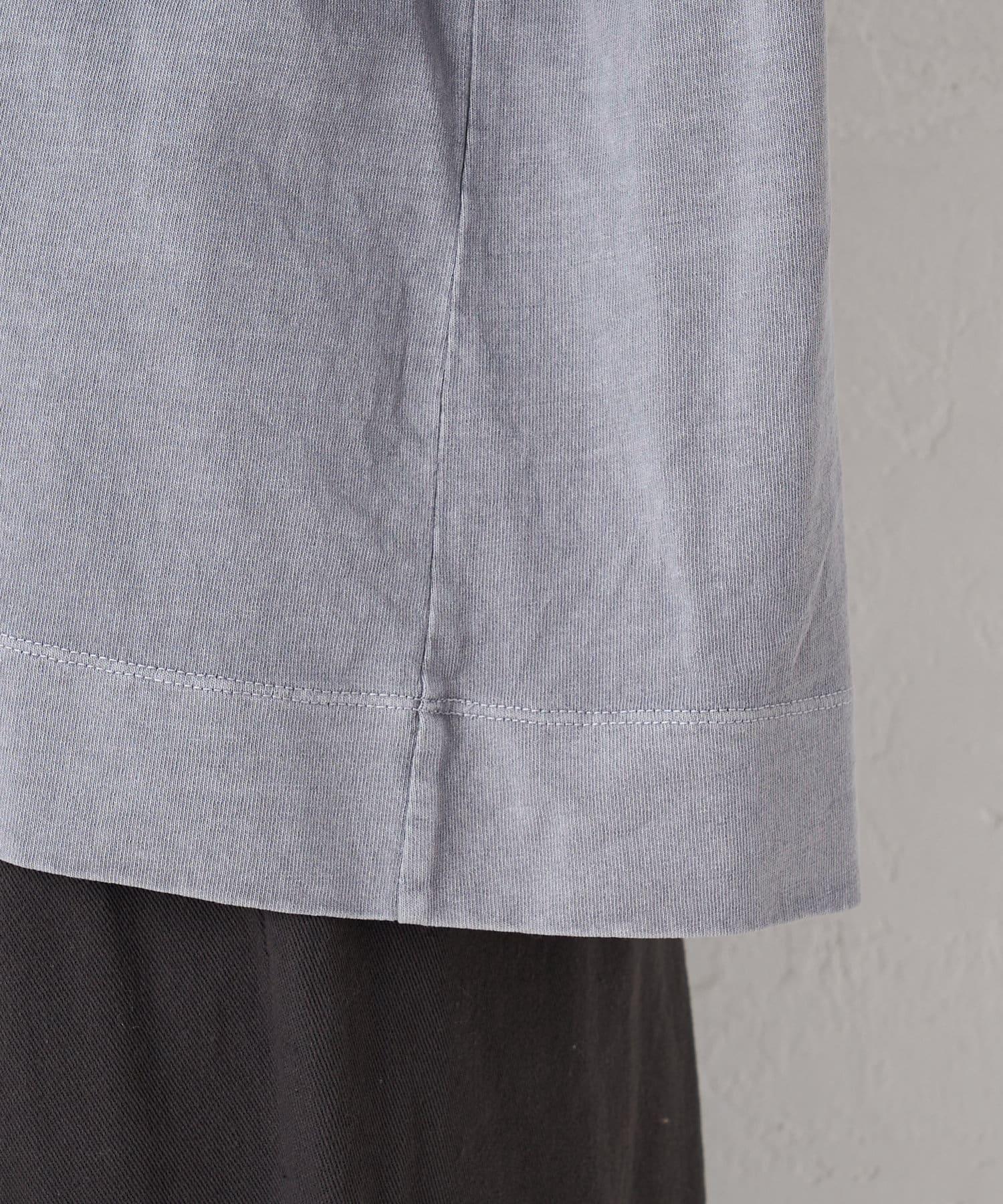 pual ce cin(ピュアルセシン) 布帛使いピグメントプルオーバー