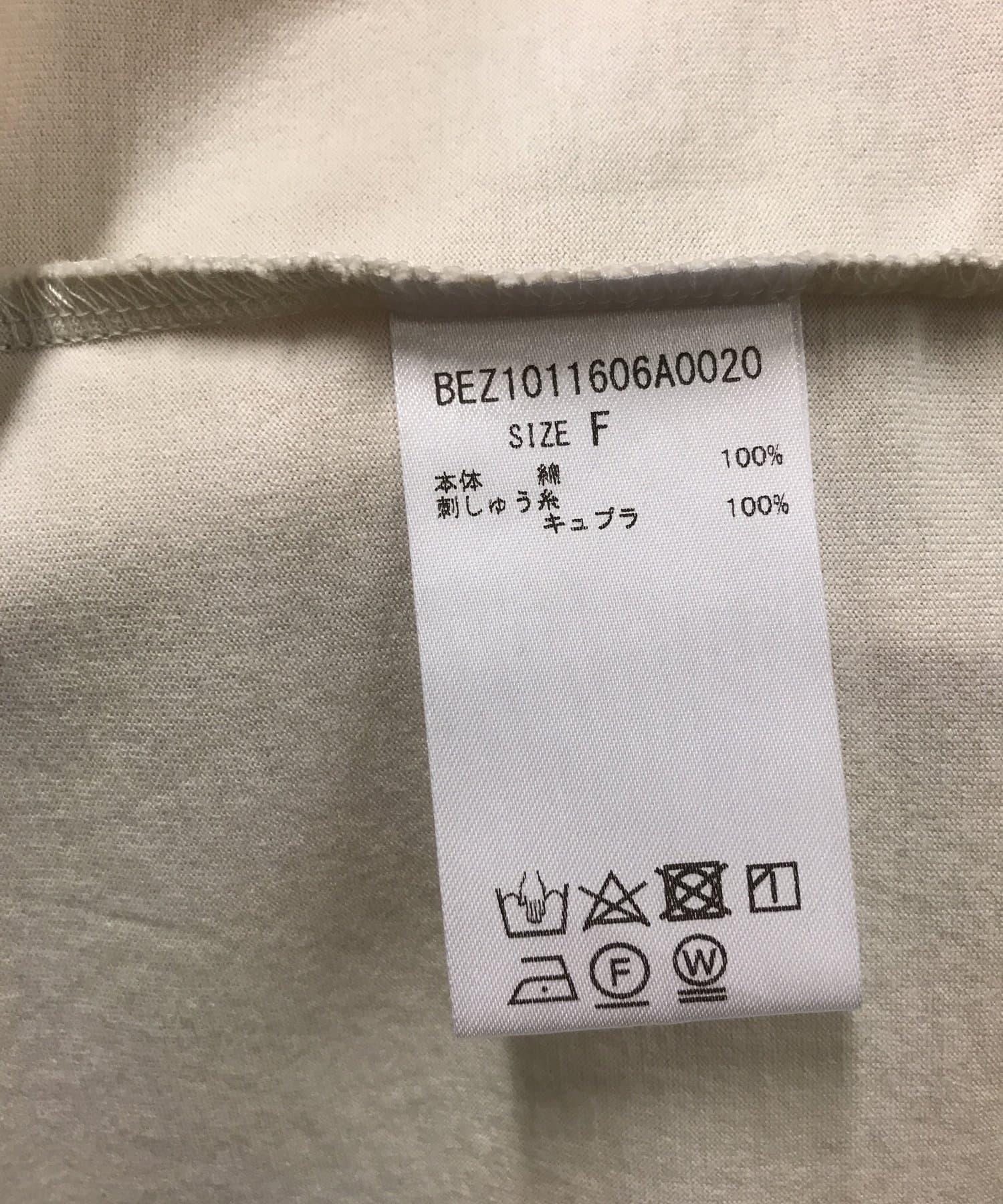 BEARDSLEY(ビアズリー) ソーダ刺繍Tシャツ