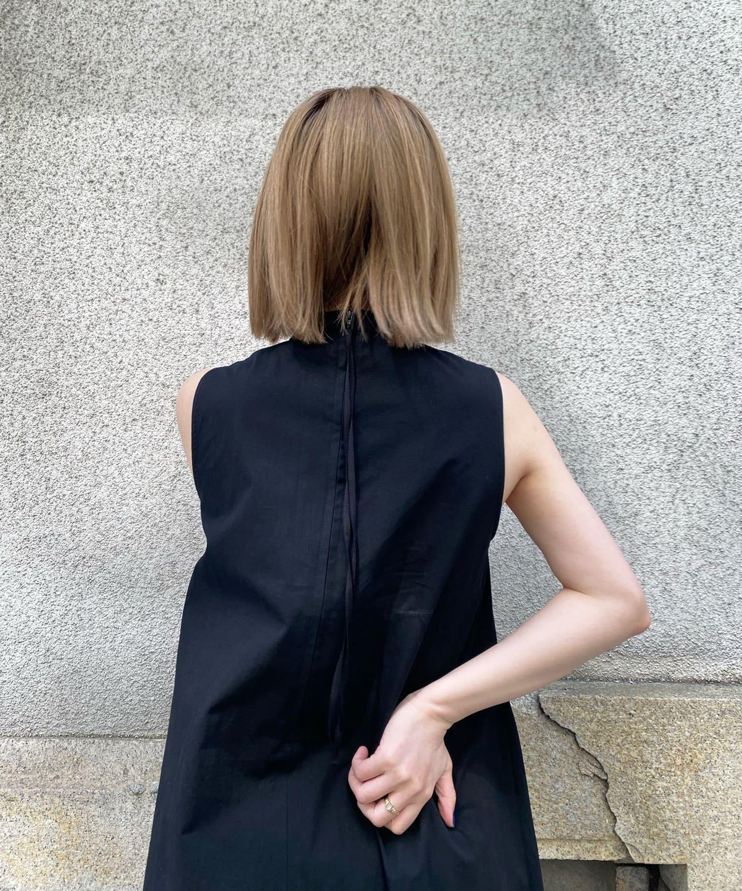 DOUDOU(ドゥドゥ) 【WEB限定】テントラインノースリワンピース