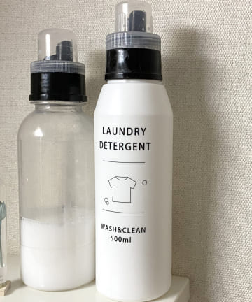 salut!(サリュ) 洗剤詰め替えボトル