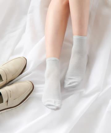 COLONY 2139(コロニー トゥーワンスリーナイン) ラメソックス/靴下