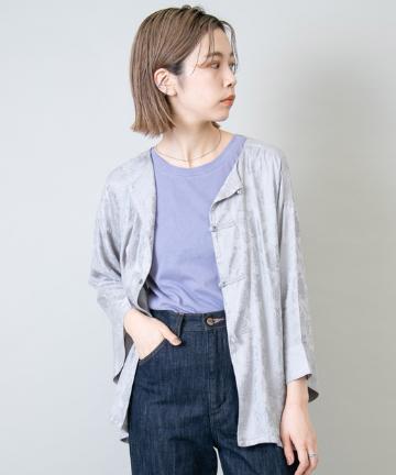 Kastane(カスタネ) チャイナジャガードシャツ