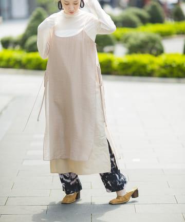 mona Belinda(モナ ベリンダ) シアーレイヤードキャミワンピース