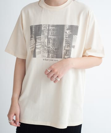 mona Belinda(モナ ベリンダ) フォトジェニックTシャツ