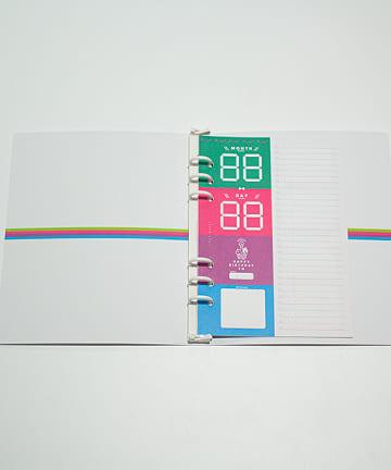 baseyard tokyo(ベースヤード トーキョー) 【りぼん創刊65周年プロジェクト】ルーズリーフブックセット(A)