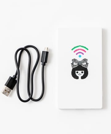 baseyard tokyo(ベースヤード トーキョー) 【りぼん創刊65周年プロジェクト】モバイルバッテリー