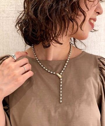 Omekashi(オメカシ) Lara Ball necklace -ボールネックレス-