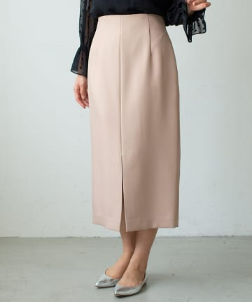 La boutique BonBon(ラブティックボンボン) 【手洗い可】サステナブルナロースカート