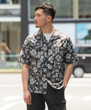 OUTLET(アウトレット) 【CIAOPANIC TYPY】 OSOROレトロフラワーシャツ