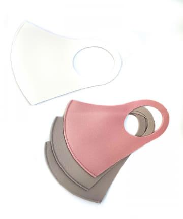 3COINS(スリーコインズ) 【小さめサイズ】洗えるマスク4枚入