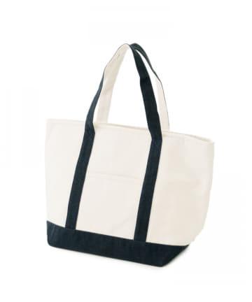 3COINS(スリーコインズ) 保温冷キャンバスバッグ