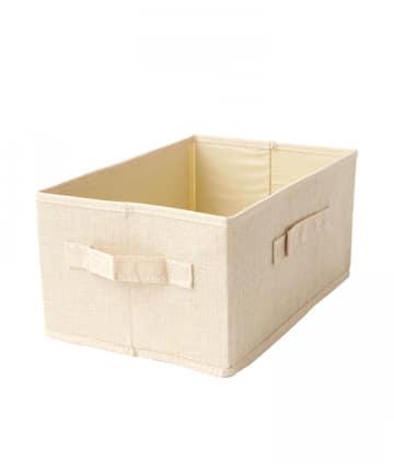 3COINS(スリーコインズ) 【便利な取っ手付き・すっきりお片付け】A4サイズBOX