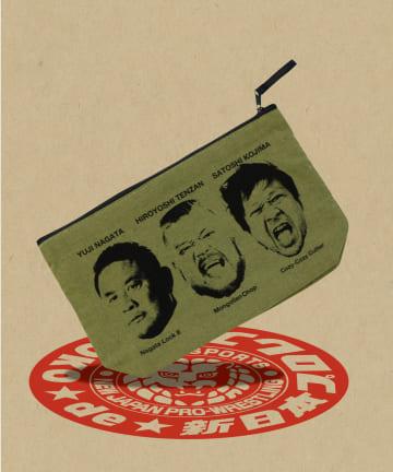 ASOKO(アソコ) 【ASOKO de 新日本プロレス】ポーチ