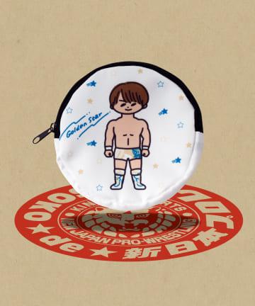 ASOKO(アソコ) 【ASOKO de 新日本プロレス】丸形ポーチ