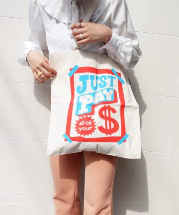 3COINS(スリーコインズ) 【ASOKO】【ASOKO de ART】トートバッグ
