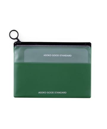 ASOKO(アソコ) 【ASOKO GOOD STANDARD】A6 Zipperポーチ