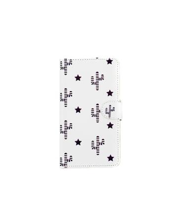 3COINS(スリーコインズ) 【ASOKO】<WEB限定SALE>総柄手帳型iPhone11ケース