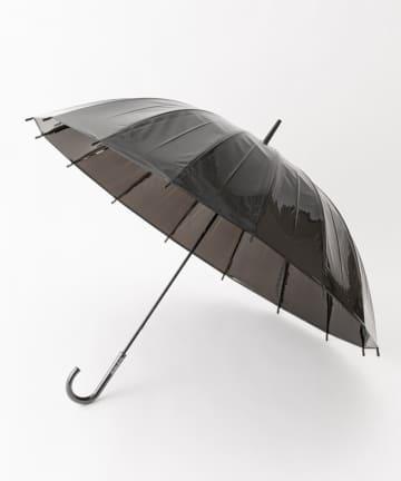 COLONY 2139(コロニー トゥーワンスリーナイン) ロゴ入り60cm16本骨ビニール傘