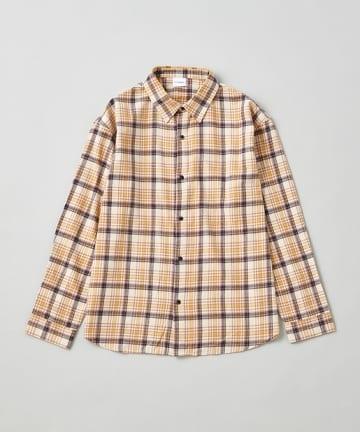 OUTLET(アウトレット) 【Ciaopanic】綿テンセルチェックシャツ/ネルシャツ/WEB限定カラー