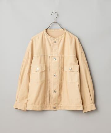 OUTLET(アウトレット) 【Ciaopanic】ノーカラーバックサテンジャケット