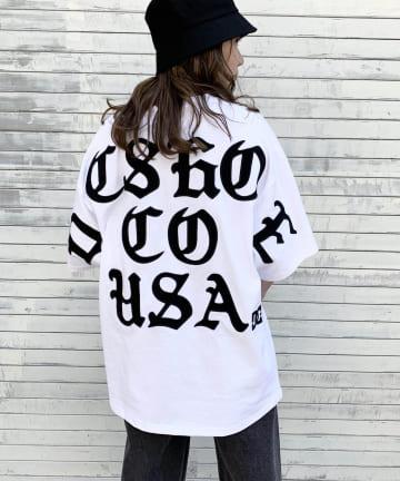 RASVOA(ラスボア) 【DC SHOES】WIDE BACKGOTHIC Tシャツ