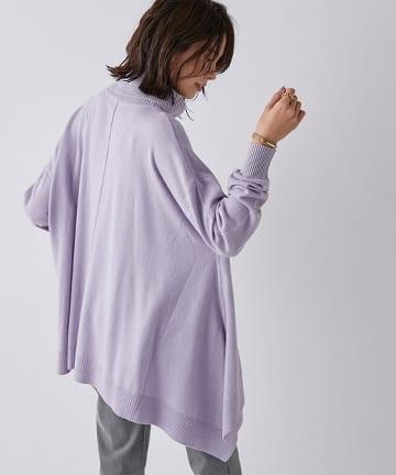 un dix cors(アンディコール) 【《揺れる裾で女らしさアップ》手洗い可】Angora混アシメタートル