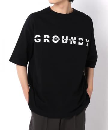 Lui's(ルイス) 【Ground Y&YOHJI YAMAMOTO】Logo Tshirt