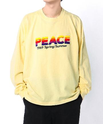 Lui's(ルイス) 【DAIRIKU/ダイリク】PEACE Long Sleeve Tee