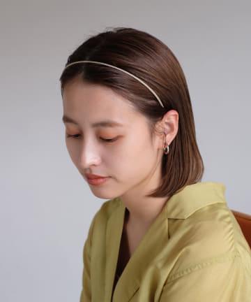 Kastane(カスタネ) 細カチューシャ