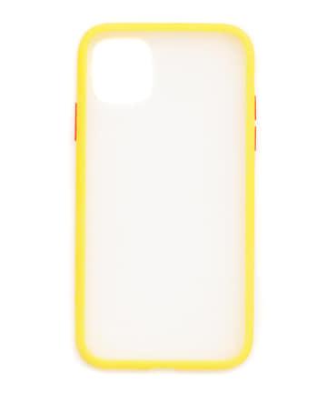 3COINS(スリーコインズ) 【ASOKO】<WEB限定SALE>ボタンがカラフルなiPhone11ケース