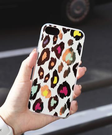 ASOKO(アソコ) 柔らかレオパードiPhone7・8ケース