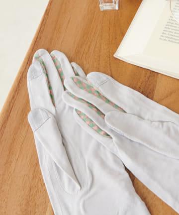 Daily russet(デイリー ラシット) 【Casselini/キャセリーニ】パイピング抗菌手袋