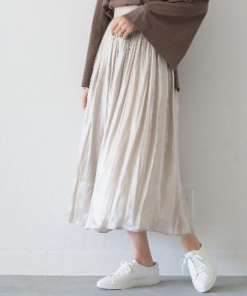 Loungedress(ラウンジドレス) ラスターギャザースカート