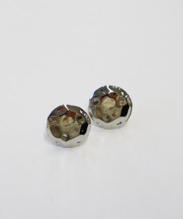 Lattice(ラティス) 楕円メタルイヤリング