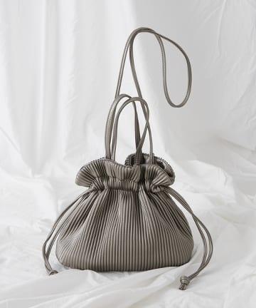 COLONY 2139(コロニー トゥーワンスリーナイン) プリーツ2WAY巾着バッグ