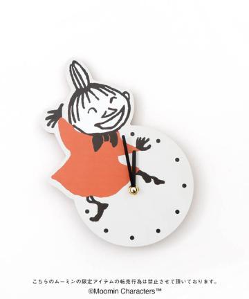 salut!(サリュ) 【ムーミン限定商品】ダイカット時計