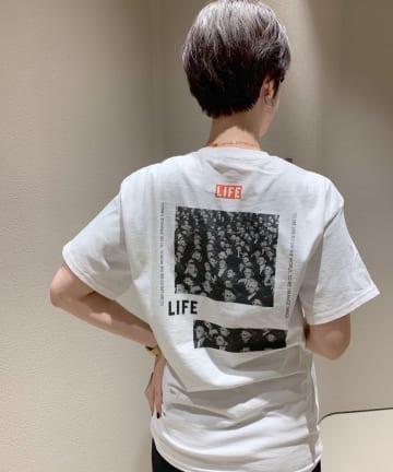 """SHENERY(シーナリー) """"LIFE""""フォトTee01"""