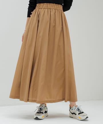 Loungedress(ラウンジドレス) リッチカラーギャザースカート