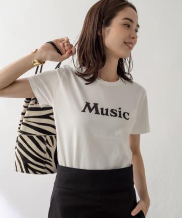 La boutique BonBon(ラブティックボンボン) 【洗える・FLAVER TEE(フレーバーティー)】MUSIC Tシャツ