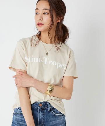 La boutique BonBon(ラブティックボンボン) 【洗える・FLAVER TEE】SAINT-TROPEZ Tシャツ