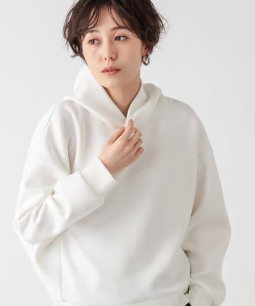 un dix cors(アンディコール) 【垣内彩未さん着用アイテム】ダンボールドルマンフーディ