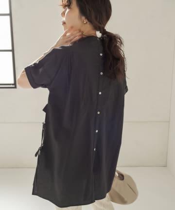 CAPRICIEUX LE'MAGE(カプリシュレマージュ) コットンスモッキングシャツ