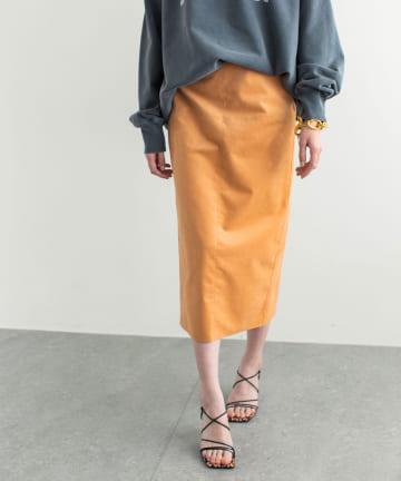 GALLARDAGALANTE(ガリャルダガランテ) スエードタイトスカート