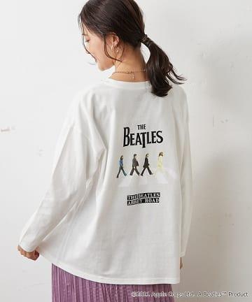 Discoat(ディスコート) 【The Beatles】別注 バックプリントロンT≪レディース≫