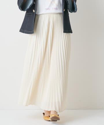 BONbazaar(ボンバザール) ランダムプリーツロングスカート